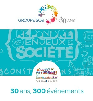 30 ans innovation GROUPE SOS