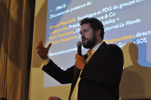 Ludovic Bu, Président de l'association Voiture and Co