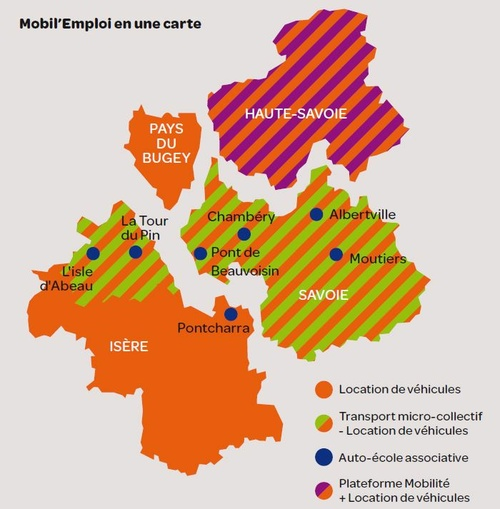 carte d implantation