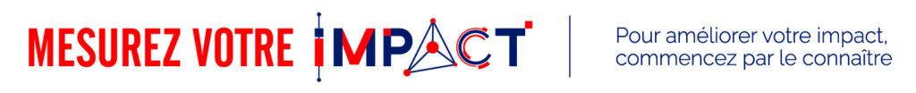 Logo et baseline de Mesurez votre impact